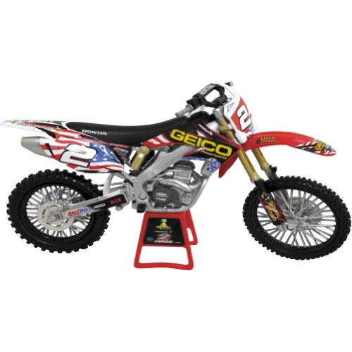 New Ray Motocross of Nations Trey Canard #2 Replica Motorcycle Toy - 1:12 Scale