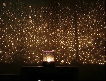 led night light beauty star light led lamp projector bedside lights. Black Bedroom Furniture Sets. Home Design Ideas