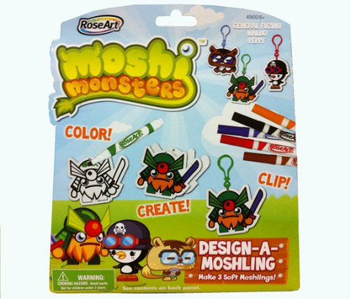 Moshi Monsters Design-a-moshling