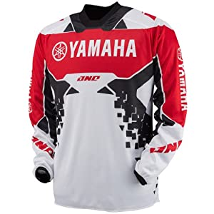 One Industries Atom 'Yamaha' Jersey (Red, Large)