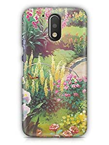 Cover Affair Nature Printed Back Cover Case for Moto G4 Play / Moto G (4th Generation) Play