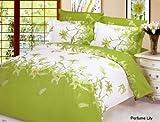 Le Vele Perfume Lily - Duvet Cover Bed in Bag - King Bedding Gift Set - LE70K
