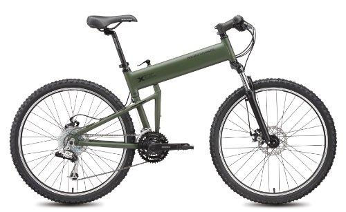 "2011 Montague Paratrooper Mountain Bike - 18"" Matte Cammy Green"