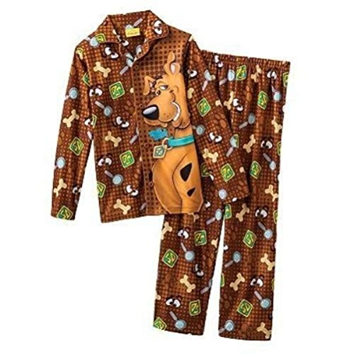 Scooby Doo 2 Pc Long Sleeve Pajama Set Boy Size 10 front-667848