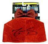 Matt Smith Autographed/Signed Doctor Who In-Package Fez with Bow Tie