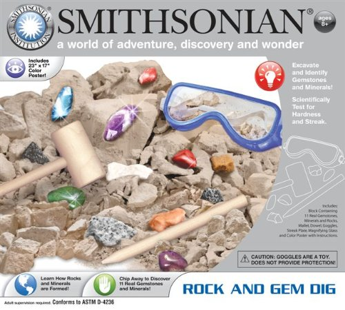 Smithsonian Rock and Gem Dig - 1