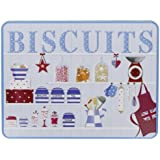 Grandma Wild's Kitchen Dresser Embossed Biscuit Tin with Assorted Biscuits 400 g