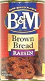 B & M - Brown Bread W/Raisin Can (Pack of 12)