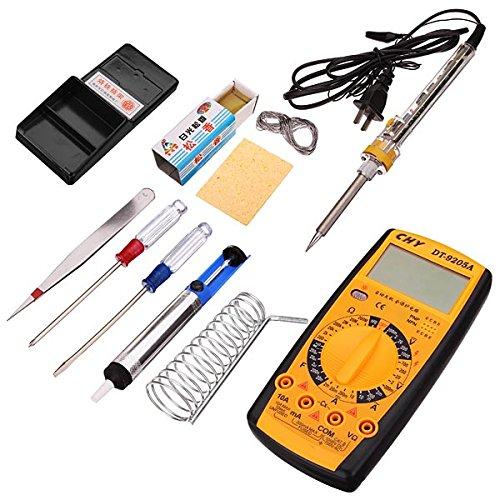 10Pcs 40W Electric Soldering Iron Set Solder Welding Iron Tool Kit