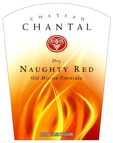 Nv Chateau Chantal Naughty Red-Dry 750 Ml