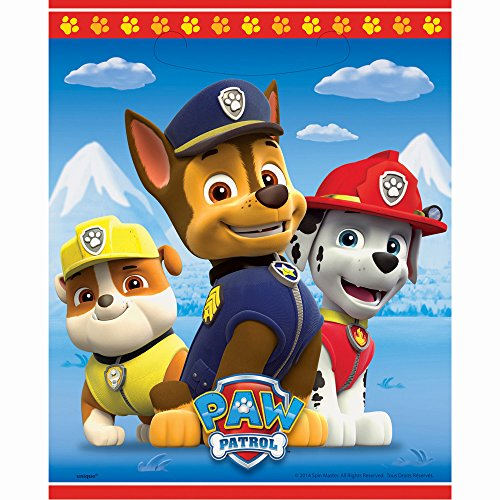 PAW Patrol Favor Bags, 8ct - 1