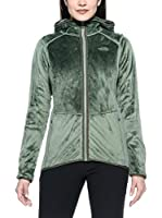 The North Face Chaqueta W Mossbud Fz Hdy Sea Spray (Verde)