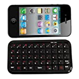 7dayshop Mini Bluetooth 3.0 Keyboard - Works with Apple iPad / 2 / 3, iPhone 3G / 3GS / 4 / 4S, iPod Touch /Android / PS3 / Smart Phone / PC & Mac