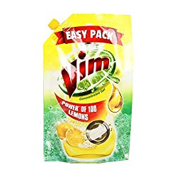 Vim Concentrated Gel Dish Wash - 115ml Pouch