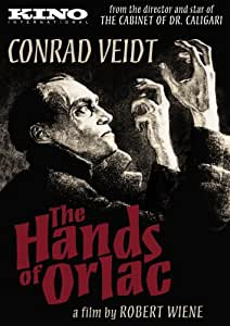 HANDS OF ORLAC 1924