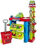 Creative Time Kids Supermarket Super Fun Playset With Shopping Cart