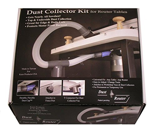 Router Bits Router Table Dust Collection / Collector System for Fence & Insert Plate by bits (Micro Fence Plunge Router Base compare prices)