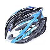パラディニア(Paladineer)超軽量 サイクリングヘルメット 高剛性 21穴通気 アジャスター サイズ調整可能 7色 自転車用 ブルー