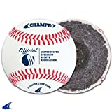 Champro B Grade Cover CBB-200 USSSA Game Baseballs - Available by the dozen  (1 dozen)