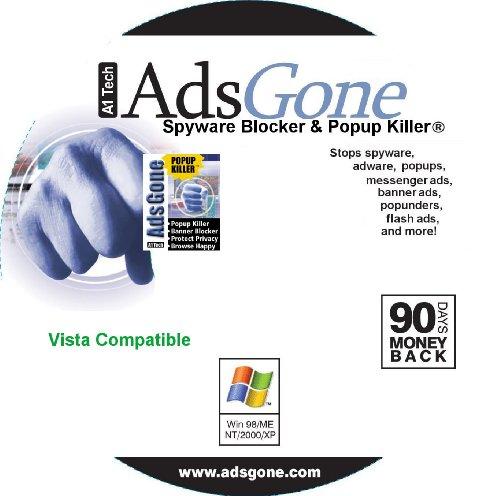 adsgone spyware blocker and popup killer 2010