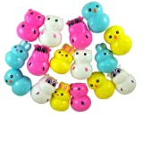 Pack of 16 Easter Basket Filler Barnyard Animal Shape Candy Filled Plastic Eggs by Needzo Gifts