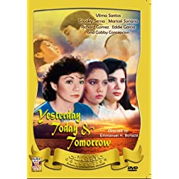 Yesterday Today and Tomorrow - Philippines Filipino Tagalog DVD Movie