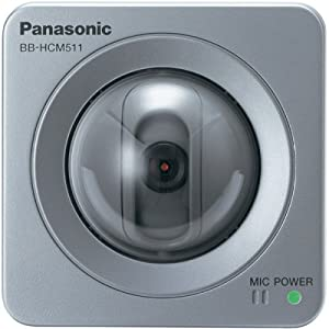 Panasonic BB-HCM511A Network Camera with Two-Way Audio