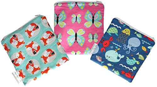 itzy-ritzy-reusable-snack-and-everything-bag-animals-one-size-3-count