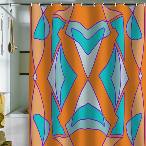 Tangerine Dream Shower Curtain
