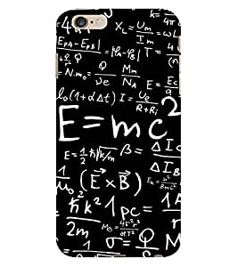 D KAUR Physics Lovers Back Case Cover for Apple iPhone 6 Plus