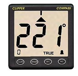 Clipper Compass System w/Removable Fluxgate Sensor