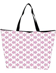 Snoogg Colorful Mixed Circles Designer Waterproof Bag Made Of High Strength Nylon