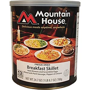Mountain House Breakfast Skillet #10 Can Freeze Dried Food - 6 Cans Per Case by Mountain House