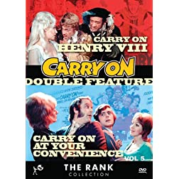 Carry On Double Feature Vol 5: Carry On Henry VIII &amp; Carry On At Your Convenience
