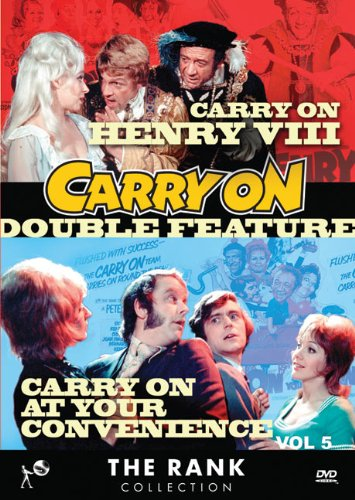 Cover art for  Carry On Double Feature Vol 5: Carry On Henry VIII & Carry On At Your Convenience