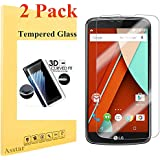 LG K10 Tempered Glass Screen Protector Asstar Full Coverage 0.26mm 2.5D HD Clear Screen Film 9H Hardness Anti...