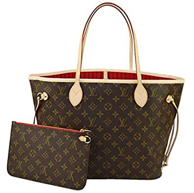 Louis Vuitton Neverfull MM Monogram Cherry M41177 Handbag: Handbags