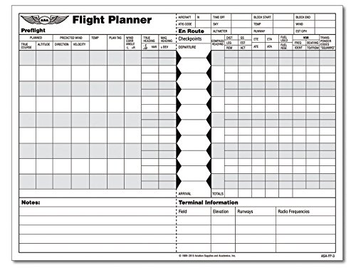 ASA Flight Planner Pad (Aviation Charts Sectional 2015 compare prices)