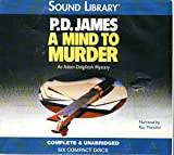 img - for A Mind to Murder: Library Edition (Adam Dalgliesh Mystery) book / textbook / text book