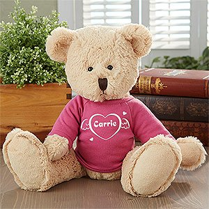 Personalized Teddy Bears - Cuddles Of Love Design front-948695