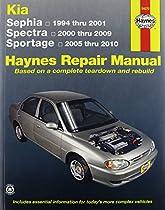 Kia Sephia, Spectra & Sportage automotive repair manual (Haynes automotive repair manual series)