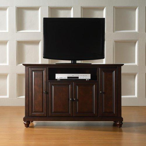 Crosley Furniture Cambridge 48-Inch TV Stand, Vintage Mahogany photo B003ZLICW4.jpg