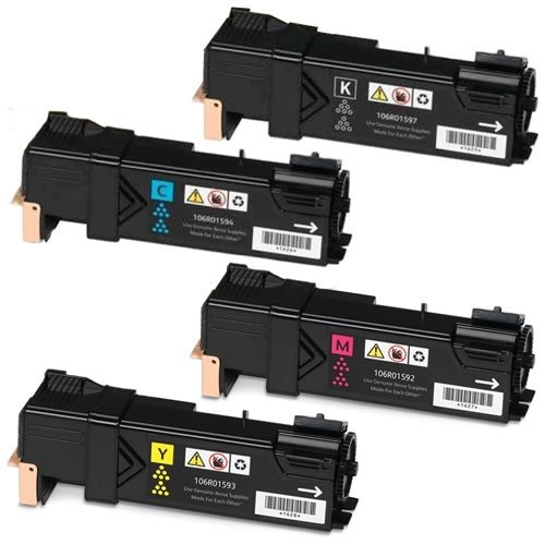 Doitwiser Compatible Toner Cartridges Set Black Cyan Magenta Yellow For Xerox Phaser 6500N 6500 6500DN WorkCentre... Black Friday & Cyber Monday 2014