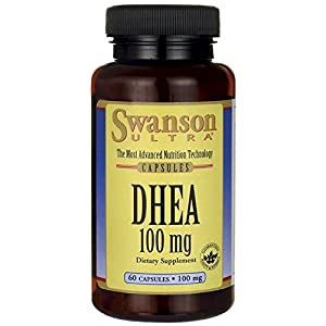 DHEA 100 mg 60 Caps by Swanson Ultra