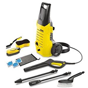 Karcher Modular Series 1600PSI Electric Pressure Washer with Car-Care Kit and 20-Foot Hose,K 2.38 CCK