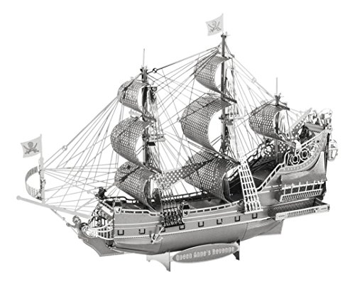 Fascinations ICONX Queen Anne's Revenge Ship 3D Metal Model Kit (3d Models compare prices)