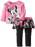 Disney Baby Baby-Girls Infant Disney's Minnie Girl Red Skegging Set