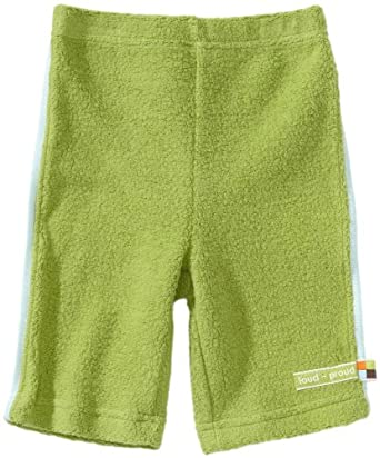 loud + proud Organic Cotton Teddy Fleece Pants (Moss, 6-12 Months)