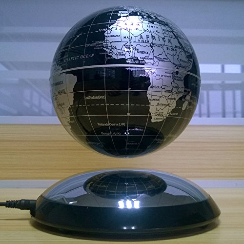 antique style geographic globe made of wood