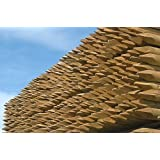 10 x 1.8 (6 foot) tall x 75mm round, pressure treated wooden fence posts, stakes fencing wood